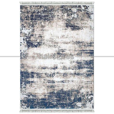 Pierre Cardin Halı - Pierre Cardin Mavi Halı Otantik E012D (1)