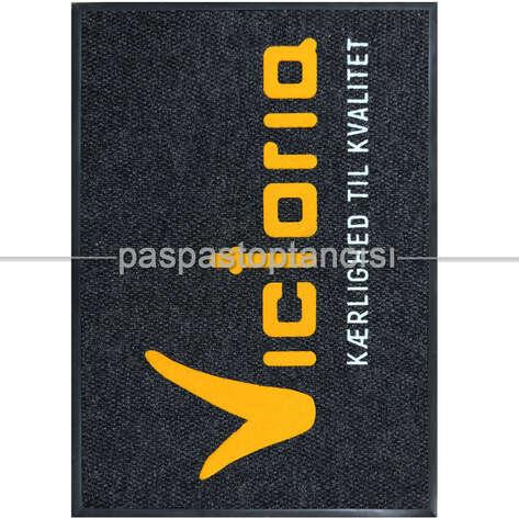 Paspas Toptancısı - Restaurant için Logolu Halı Paspas (1)