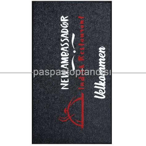 Paspas Toptancısı - Restaurantlar için Logolu Paspaslar (1)