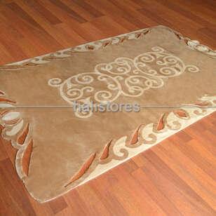 Royal Halı - Royal Halı Custom Design Dantel Halı Bej-Krem (1)