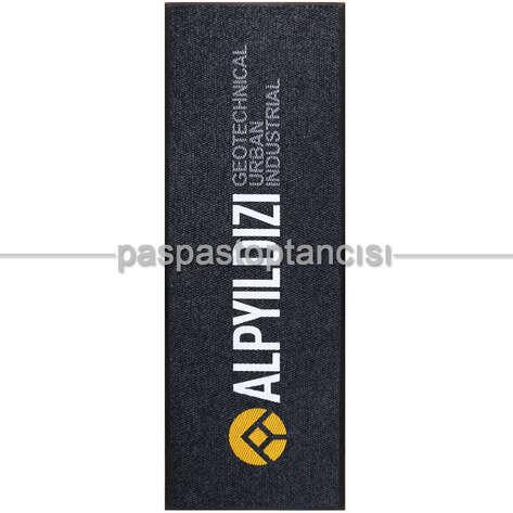 Paspas Toptancısı - Şirketler için Logolu Siyah Paspas (1)