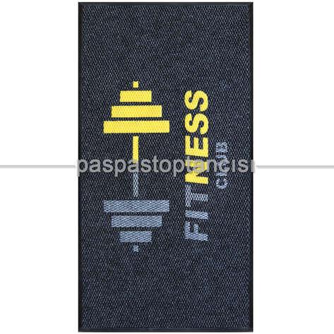 Paspas Toptancısı - Spor Salonları için Özel Logolu Paspas (1)