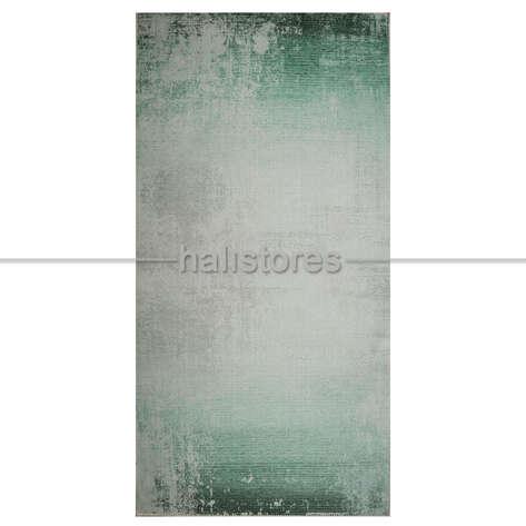 Su Yeşili Degrade Baskılı Halı Surre SUR018