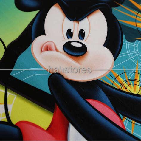 Taç Lisanslı Mickey Erkek Çocuk Halısı