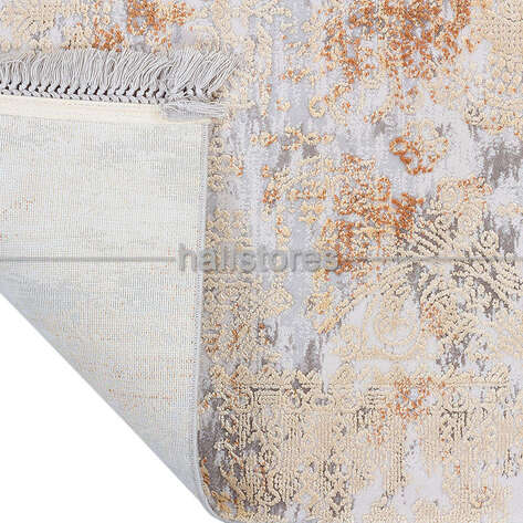 Turuncu Bambu Halı Kuvars KV003