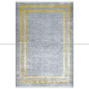 Pierre Cardin Halı - Vizon-Sarı Çerçeveli Halı Pierre Cardin Monet Mt21b (1)