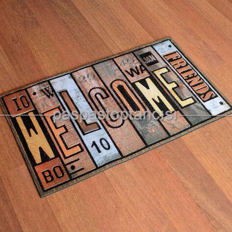 Paspas Toptancısı - Welcome Kapı Paspası Antik 12 (1)
