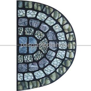 Paspas Toptancısı - Yarım Ay Kapı Paspası Antik (1)