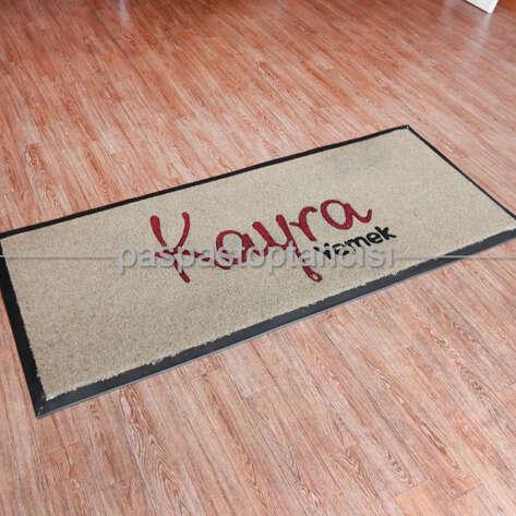 Paspas Toptancısı - Yemek Catering Firmaları için Logolu Koko Paspas (1)