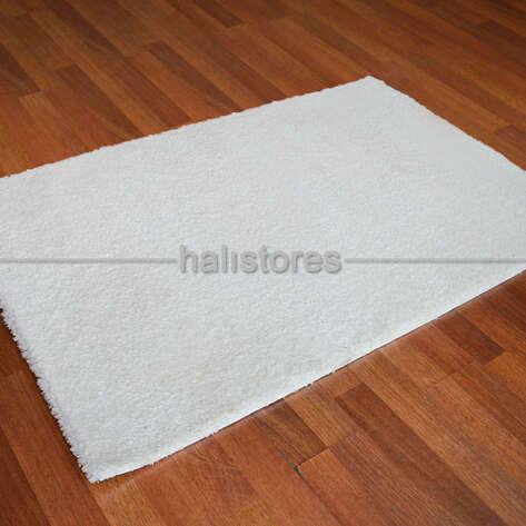 Halıstores - Yumuşak Tüylü Bebek Halısı Baby Soft Beyaz (1)