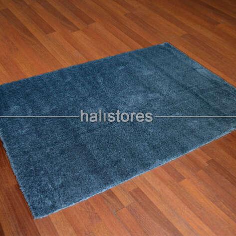 Halıstores - Yumuşak Tüylü Halı Comfort 1006 Mavi (1)