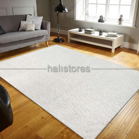 - Yumuşak Tüylü Yolluk Halı Comfort 1006 Beyaz (1)
