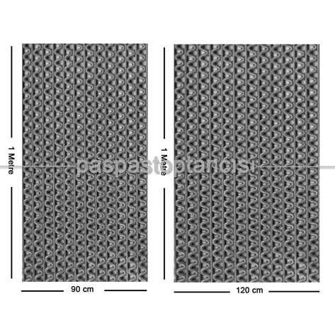 Paspas Toptancısı - Z Mat Islak Zemin Paspası Süper 7 mm Gri (1)