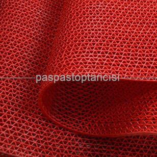 Z Mat Islak Zemin Paspası Süper 7 mm Kırmızı - Thumbnail